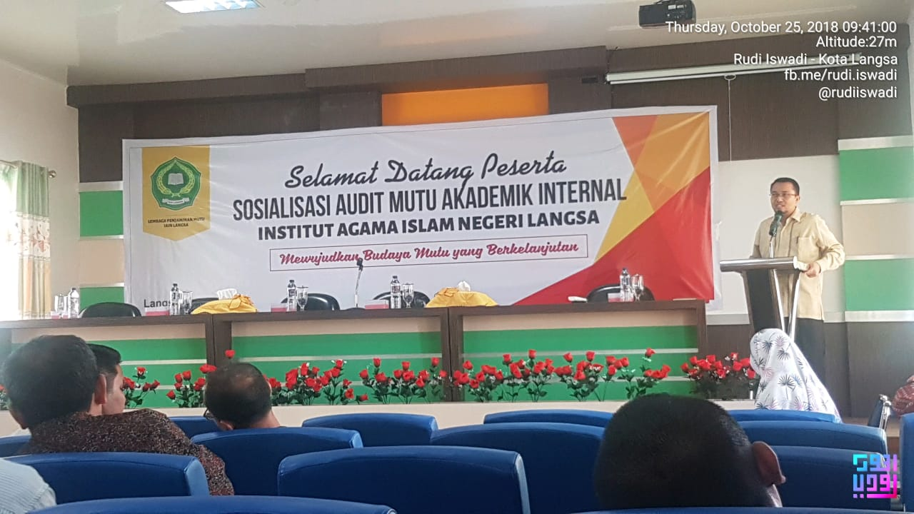 Sosialisasi Audit Mutu Akademik Internal