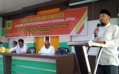 LPM Sosialisasikan Dokumen SPMI